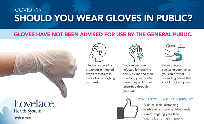 Should you wear gloves