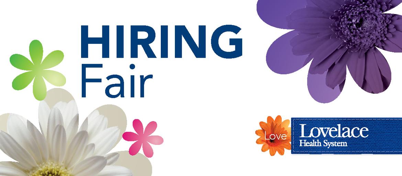Lovelace Health System Hiring Fair