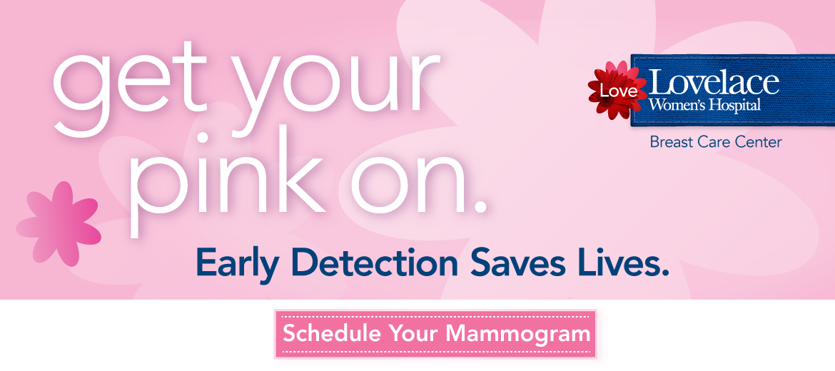 Early Detection Saves Lives. Schedule Your Mammogram Today.